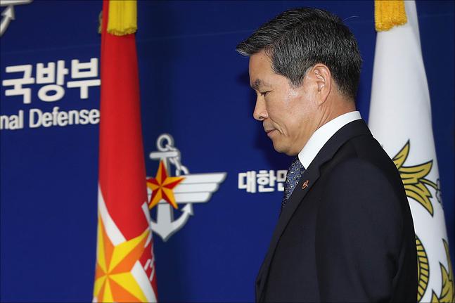 정경두 국방부 장관 ⓒ데일리안 홍금표 기자