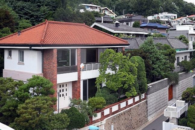 전두환씨의 연희동 자택.ⓒ연합뉴스