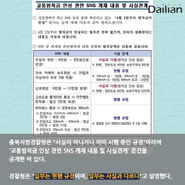 [카드뉴스] 만우절 거짓말, 교통범칙금 '가짜뉴스'
