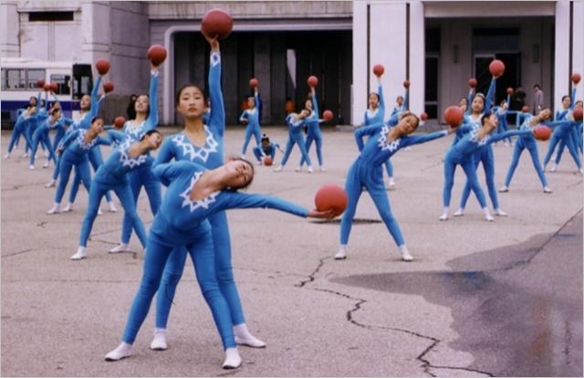 아리랑 공연을 연습하고 있는 북한의 어린 무용수들 ⓒ고려투어 홈페이지