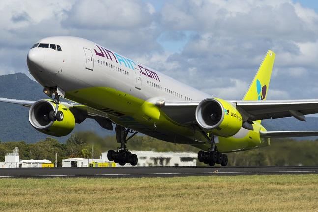 진에어 777-200ER.ⓒ진에어