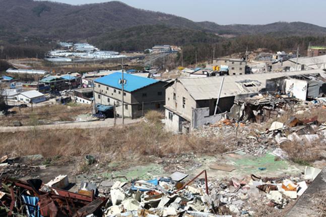 서울 내곡동 헌인마을 도시개발사업 현장 전경.ⓒ연합뉴스