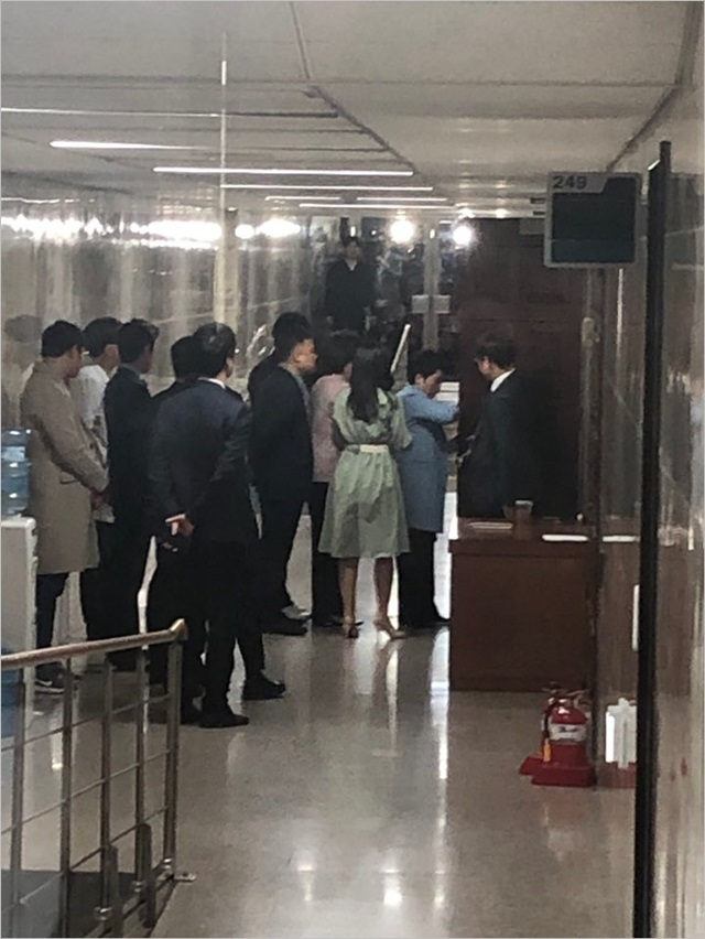 18일 이언주 바른미래당 의원이 의원총회 입장에 거부당하는 사태가 발생했다. ⓒ데일리안 김민주 기자
