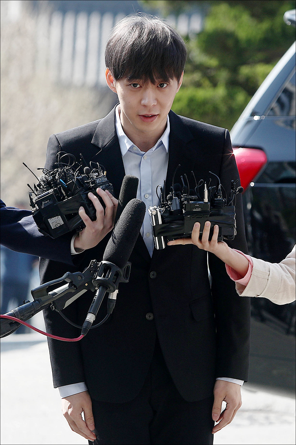 박유천 측이 마약 구매 정황이 담긴 CCTV를 경찰이 확보했다는 보도에 유감을 표했다. ⓒ 데일리안 홍금표 기자