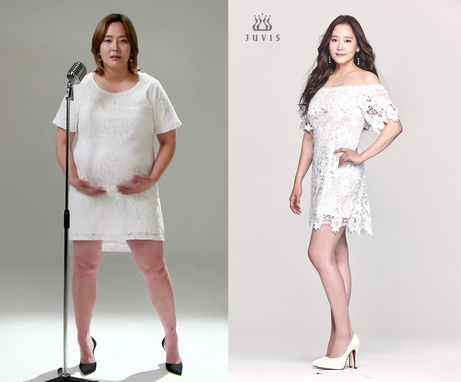 가수 다나가 20kg 감량에 성공했다. ⓒ 쥬비스