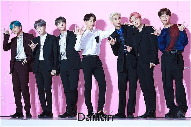 방탄소년단 멤버 전원이 보이그룹 개인 브랜드평판 순위 10위권에 들었다. ⓒ 데일리안 류영주 기자