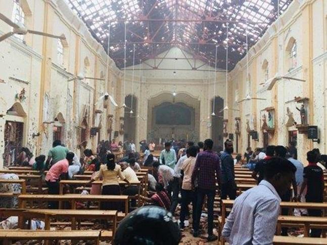 스리랑카 테러 사망자 290명으로 늘어났다. ⓒ스리랑카 교회 페이스북 캡처