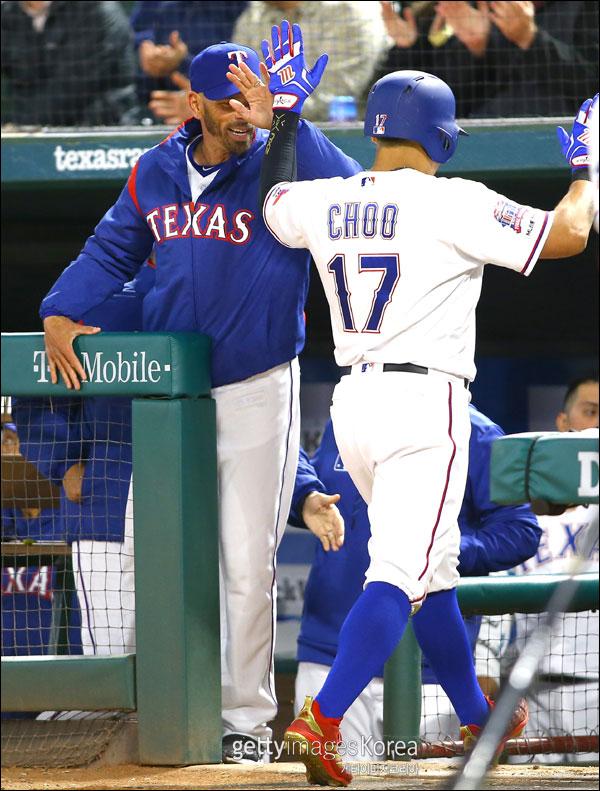 텍사스 우드워드 감독이 연일 추신수 칭찬에 나섰다. ⓒ 게티이미지
