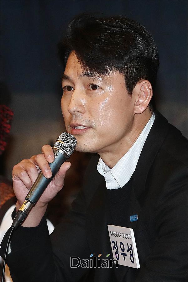 배우 정우성이 고(故) 장자연의 동료 배우 윤지오에게 응원 메시지를 보냈다.ⓒ데일리안 홍금표 기자