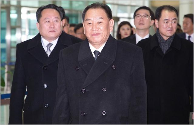 김영철 북한 노동당 부위원장 ⓒ사진공동취재단