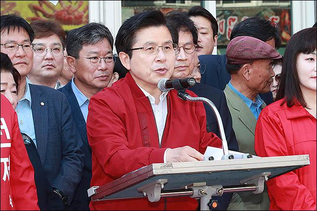 황교안 자유한국당 대표(자료사진) ⓒ데일리안 류영주 기자