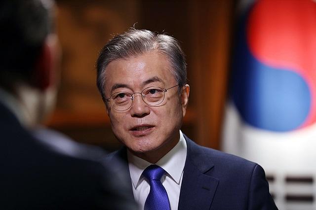 문 대통령은 지난 9일 KBS 특집 대담
