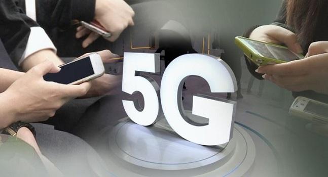 지난달 3일 일반인 대상 5G 서비스가 국내에서 세계 최초로 개시됐다.  ⓒ 연합뉴스