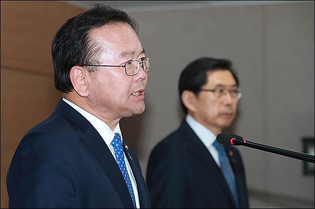 김부겸 더불어민주당 의원이 17일 자신의 페이스북에 검경수사권 조정에