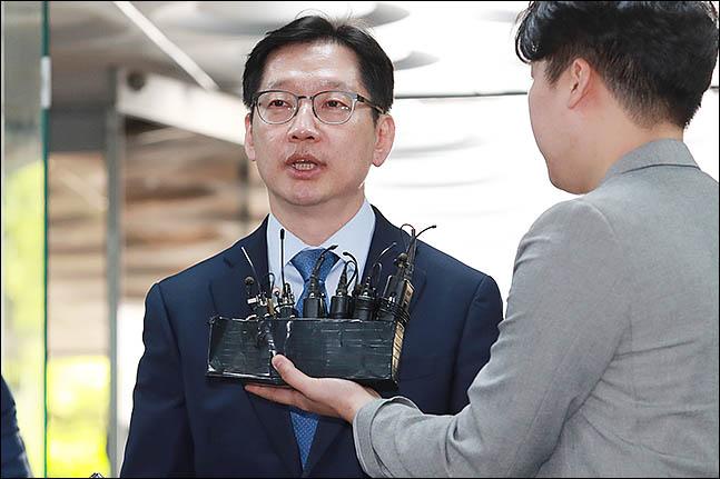 대표적인 친노 인사인 김경수 경남지사가 22일 자신의 페이스북에 노무현 전 대통령 서거 10주기에 대한 입장을 밝혔다. (자료사진) ⓒ데일리안 류영주 기자