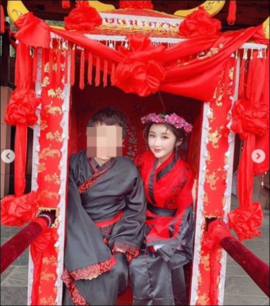 성은채가 네 번째 결혼식을 마쳤다. ⓒ 성은채 SNS