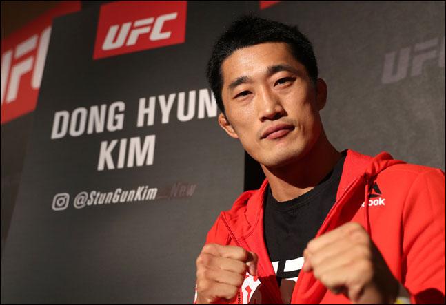 UFC 웰터급 파이터 김동현. ⓒ 스포티비나우