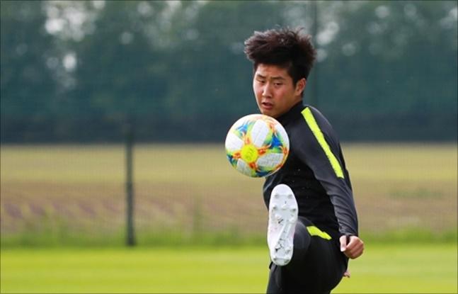 소속팀 발렌시아의 우승 기운을 등에 업은 이강인이 U-20 월드컵에서의 선전을 다짐했다. ⓒ 연합뉴스