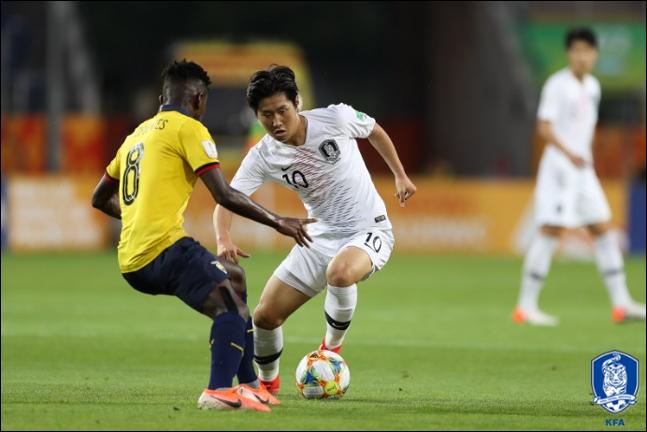 1골-3도움으로 한국을 결승까지 이끈 이강인. ⓒ 대한축구협회