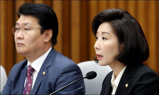 나경원 자유한국당 원내대표(자료사진) ⓒ데일리안 박항구 기자