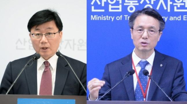 채희봉 전 청와대 산업정책비서관(왼쪽)과 김영두 가스공사 사장 직무대리(오른쪽).ⓒ산업통상자원부·한국가스공사