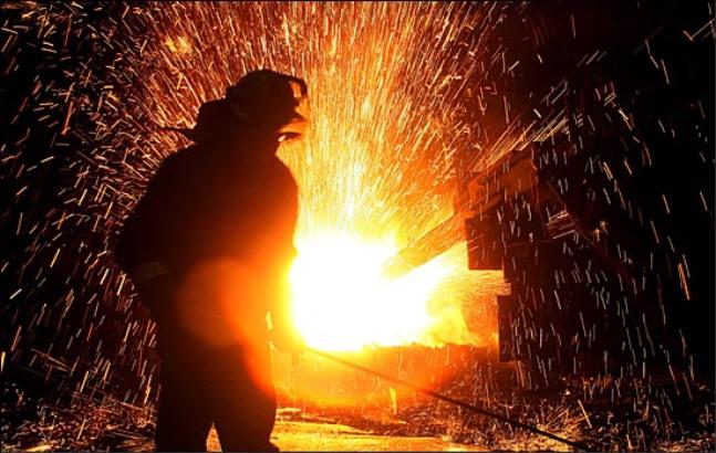 포스코 광양제철소 열연제조공정 장면.ⓒ포스코