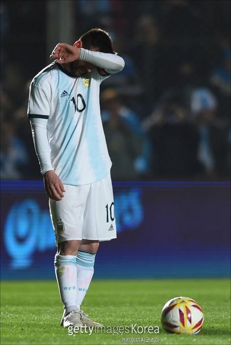 [코파 아메리카] 메시는 월드컵 4회, 코파 아메리카 4회에 참가했지만 신은 메시와 아르헨티나를 외면했다. ⓒ 게티이미지