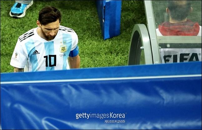 아르헨티나가 믿을 구석은 결국 메시다. ⓒ 게티이미지
