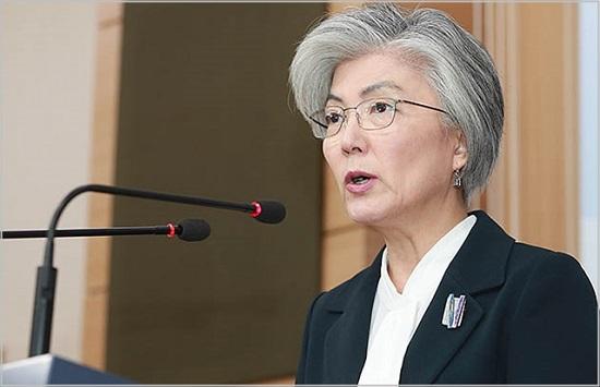강경화 외교부 장관. ⓒ데일리안 류영주 기자