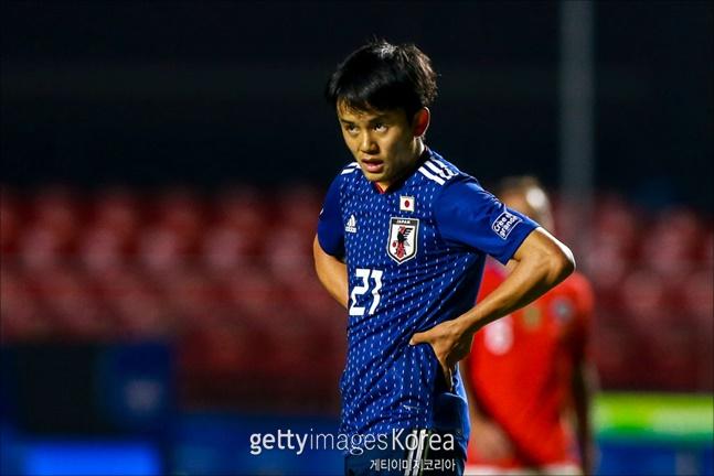 [일본 칠레] 구보가 코파 아메리카 첫 경기에 선발 출전했다. ⓒ 게티이미지