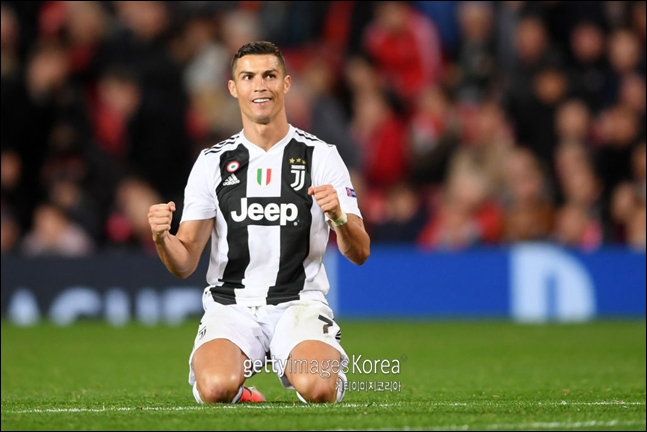 K리그 선발팀이 크리스티아누 호날두가 이끄는 이탈리아 명문 클럽 유벤투스FC와 맞대결을 펼친다. ⓒ 게티이미지