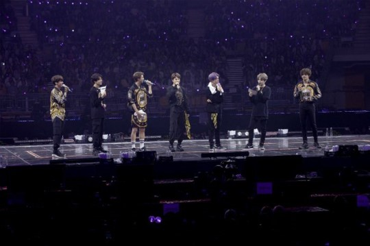 그룹 방탄소년단이 다섯 번째 공식 글로벌 팬미팅을 성황리에 마쳤다.ⓒ빅히트