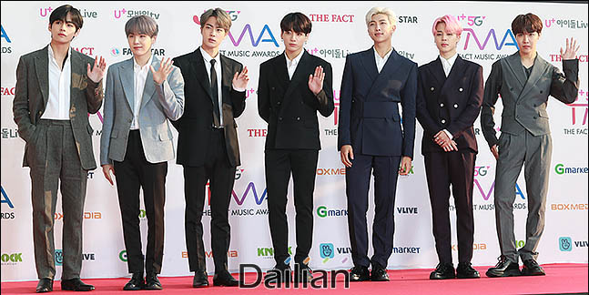 세계적인 보이그룹 방탄소년단(BTS)이 미국 레코드산업협회로부터 두 번째 플래티넘 인증을 받았다. ⓒ데일리안 류영주 기자