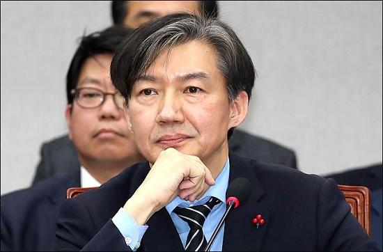 조국 청와대 민정수석이 2018년 12ᅟᅯᆯ 31일 국회에서 열린 국회 운영위원회에 출석해 의원들의 질의를 듣고 있다. ⓒ데일리안 박항구 기자