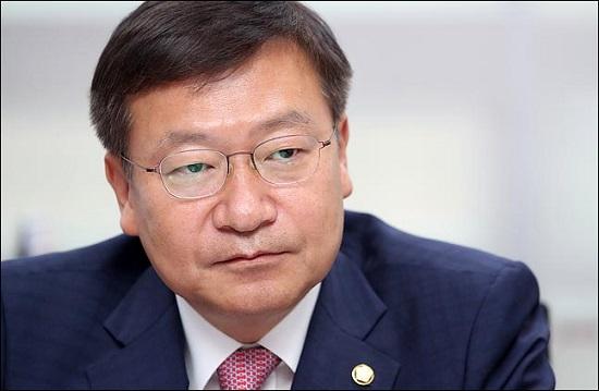정점식 자유한국당 의원. ⓒ데일리안 박항구 기자