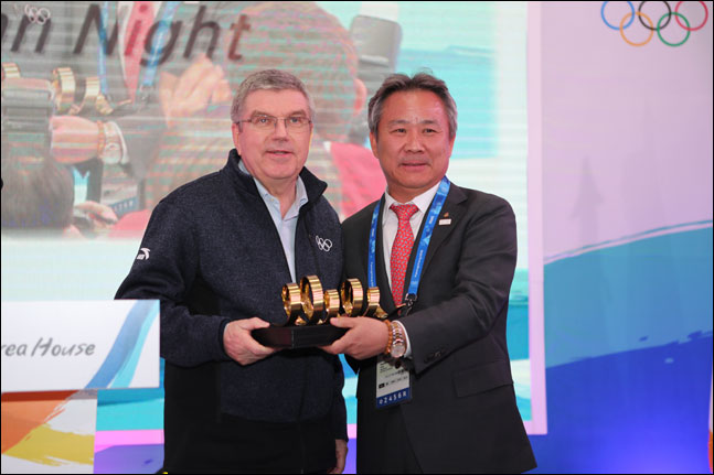 이기흥 대한체육회장이 IOC 위원으로 선출됐다. ⓒ 대한체육회
