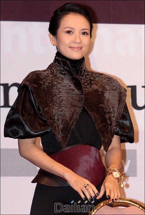 배우 장쯔이가 송중기 송혜교의 파경 소식을 간접적으로 언급했다. ⓒ 데일리안