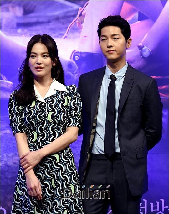 배우 송중기와 송혜교와 파경을 맞은 가운데 송중기 박보검 소속사가 이혼과 관련한 루머에 법적 대응하겠다고 밝혔다.ⓒ데일리안 DB