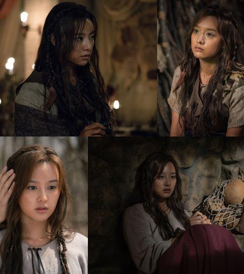 tvN '아스달 연대기' 김지원이 힘의 원리를 깨닫고 각성, 본격적으로 아스달의 권력 진출을 다짐하면서 앞으로의 흥미진진한 서사를 예고했다. ⓒ tvN