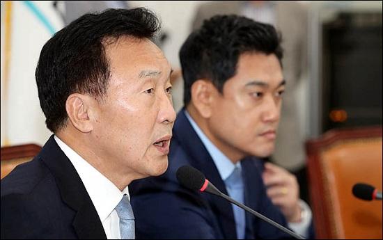 손학규 바른미래당 대표가 26일 오전 국회에서 열린 최고위원회의에서 모두발언을 하고 있다.(자료사진)ⓒ데일리안 박항구 기자