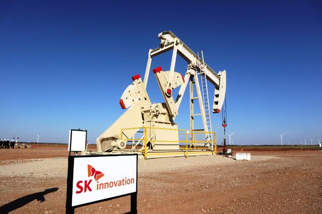 SK이노베이션이 75%의 지분을 보유한 미국 오클라호마 광구 전경.ⓒSK이노베이션