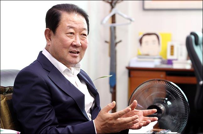 박주선 바른미래당 의원이 7일 의원회관에서 데일리안 취재진과 만나, 바른미래당 혁신위와