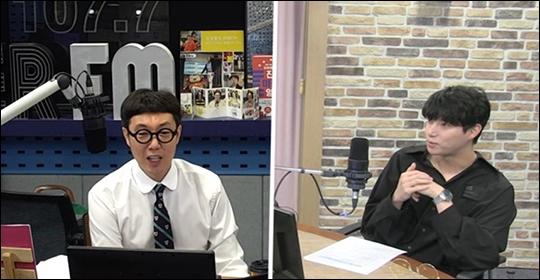 오승윤이 가장 같이 연기하고 싶은 여배우로 전도연을 꼽았다. ⓒ 김영철의 파워FM