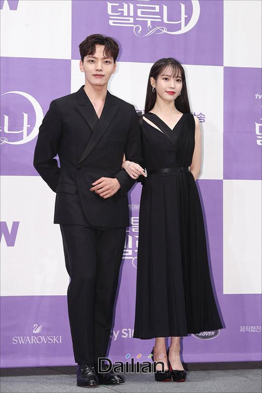 배우 이지은(아이유), 여진구가 8일 오후 서울 강남구 임피리얼팰리스에서 열린 tvN토일드라마