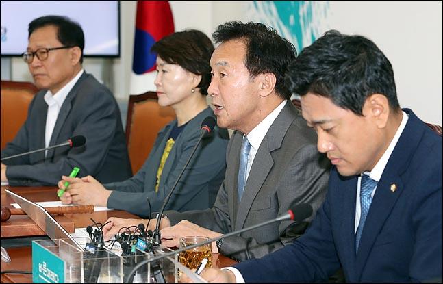 손학규 바른미래당 대표가 10일 오전 국회에서 열린 최고위원회의에서 모두발언을 하고 있다.(자료사진)ⓒ데일리안 박항구 기자