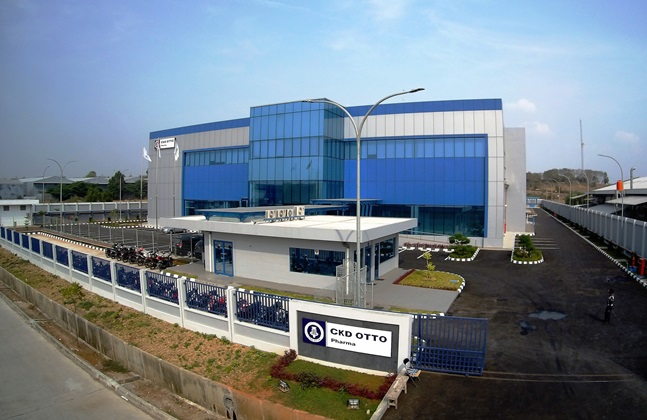 CKD-OTTO 항암제 공장 전경. ⓒ종근당