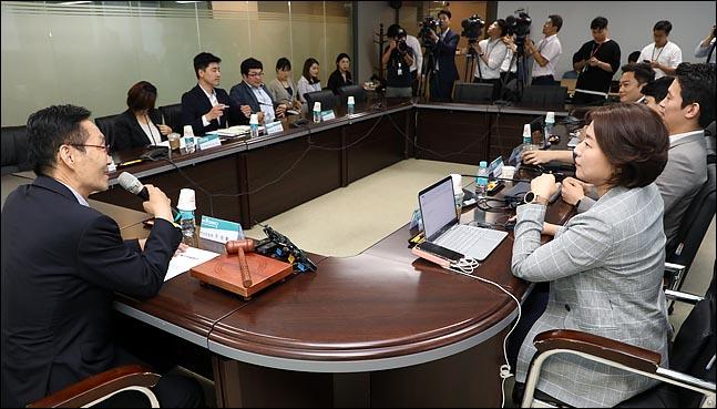 10일 서울 여의도 바른미래당 당사에서 열린 제5차 혁신위원회의에서 주대환 위원장이 모두발언을 하고 있다.(자료사진) ⓒ데일리안 박항구 기자