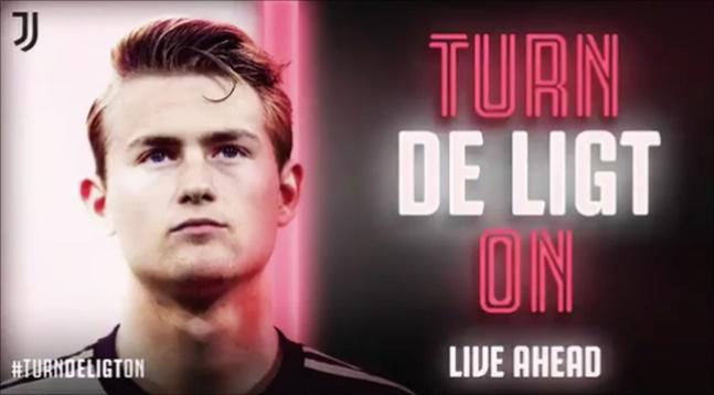 유벤투스가 데 리흐트와의 계약을 공식 발표했다. ⓒ 유벤투스