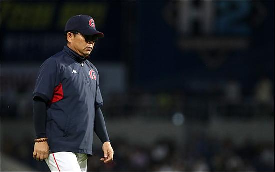 롯데는 성적 부진을 이유로 양상문 감독(사진)과 이윤원 단장이 동반 사퇴했다. ⓒ 연합뉴스