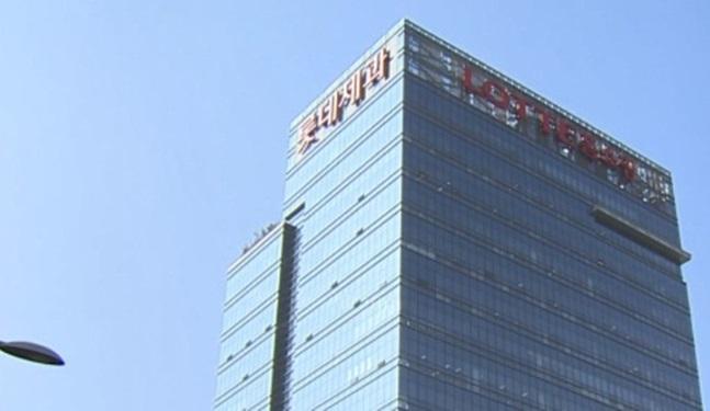 롯데제과를 퇴사한 30대 남성이 이 회사 본사 건물에서 투신 소동을 벌였다. ⓒ롯데제과